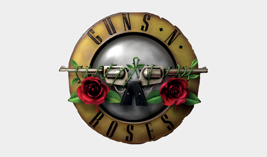 guns and roses clipart, Cartoons - Guns'n'roses Sticker - Pistolas Guns N Roses