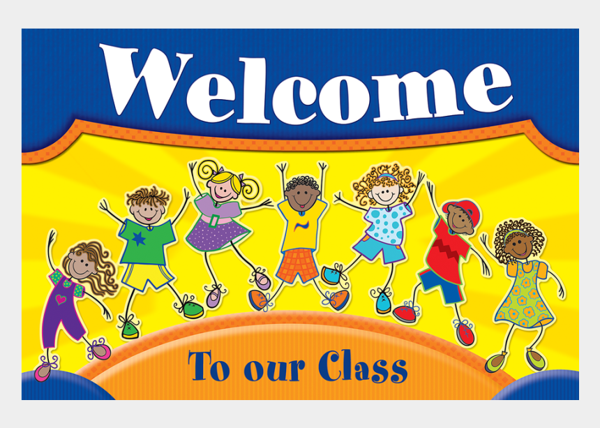 welcome to our class clipart, Cartoons - Tcr5231 Fantastic Kids Welcome Postcards Image - Kids Welcome Postcards