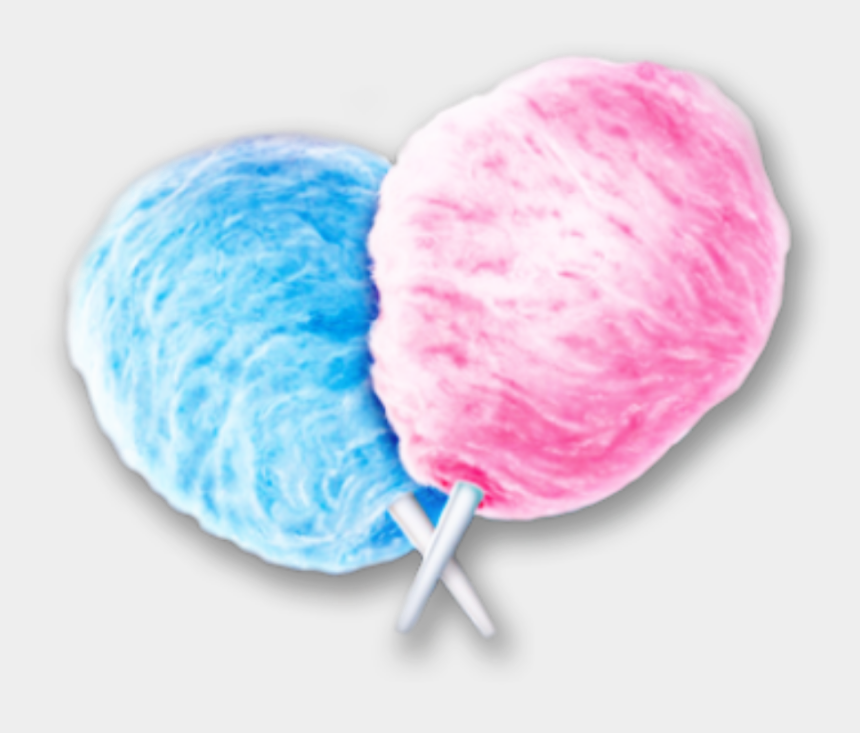 pink and blue cotton candy clipart, Cartoons - #cottoncandy , #cotton Candy , #kẹo , #kẹo Bông Gòn - Cotton Candy Transparent