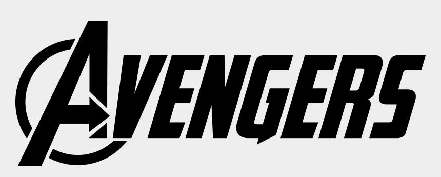 avengers clipart black and white, Cartoons - Avengers Logo Vector Png Transparent Avengers Logo - Avengers Logo Vector