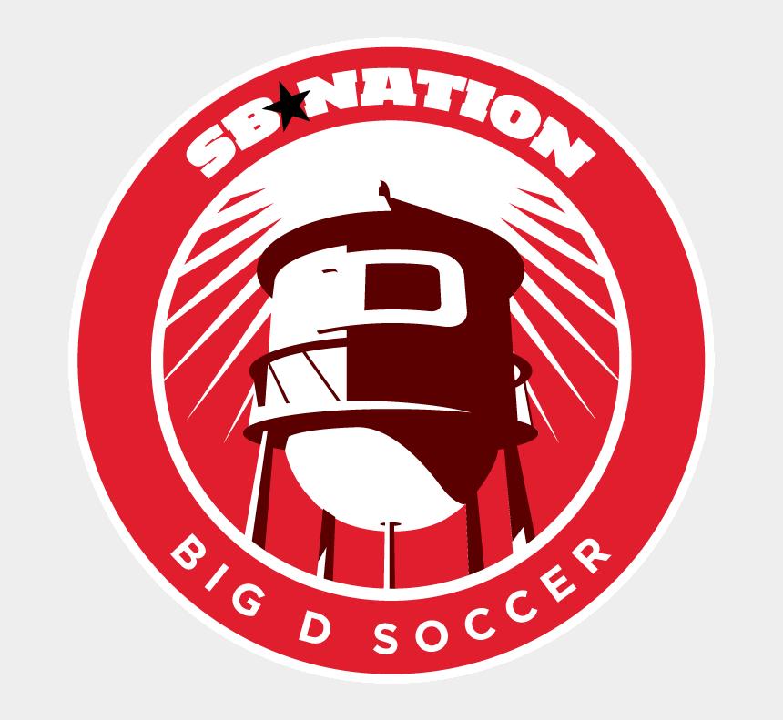 soccer goal clipart side view, Cartoons - Fc Dallas Big D Soccer - Sb Nation Nets Logo