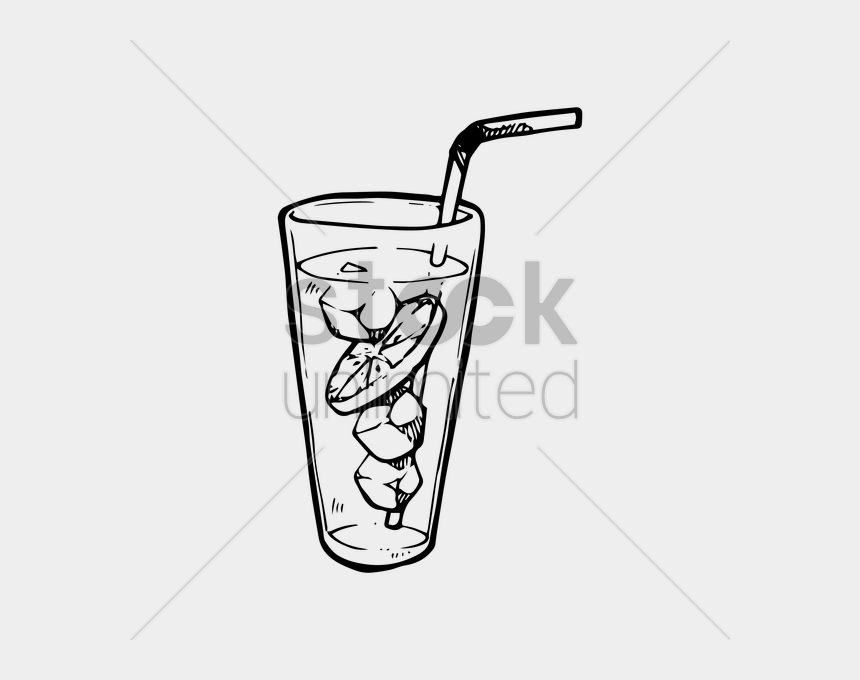 iced tea clipart black and white, Cartoons - Download Iced Tea Black And White Clipart Iced Tea - Black And White Iced Drinks