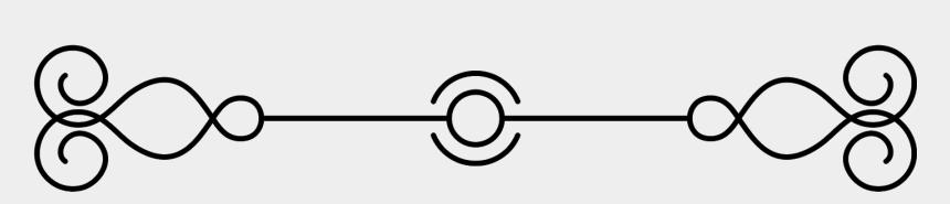 elegant underline clipart, Cartoons - Underline Design And Simple Design Hand Drawn Elements - Circle
