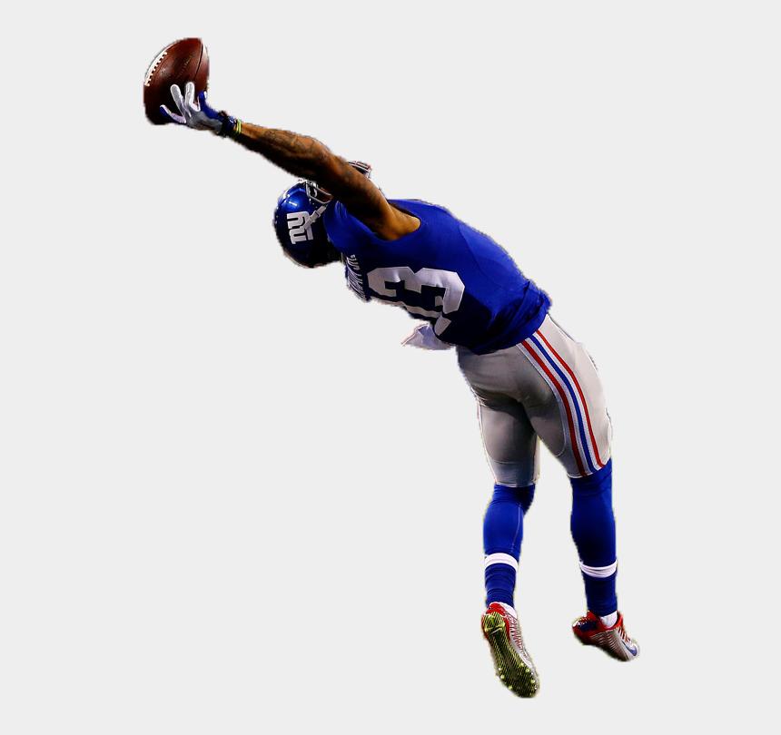 odell beckham jr clipart, Cartoons - Image Odell Beckham Jr The - Football Player Catching Ball