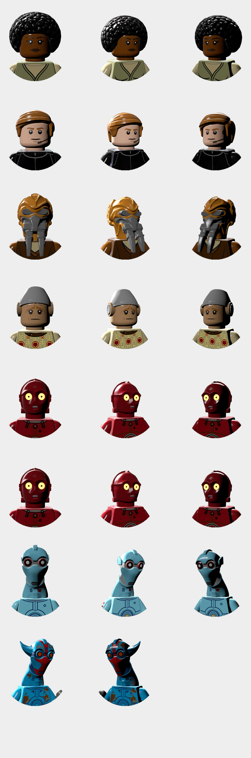 star wars the force awakens clipart, Cartoons - Lego Star Wars - Lego Star Wars Character Icons