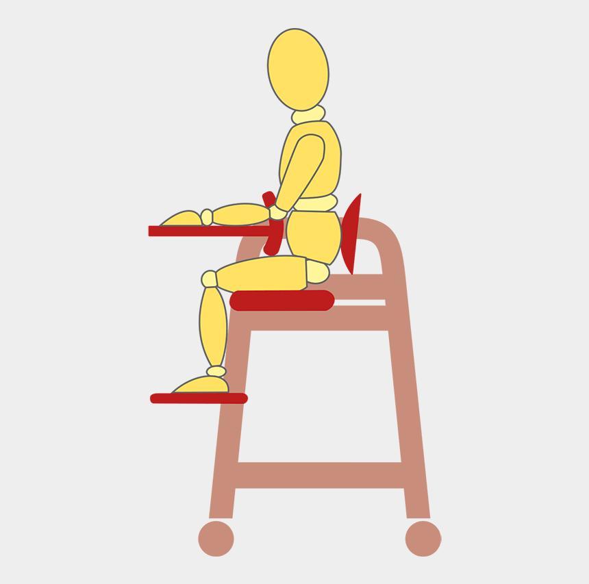 sitting up straight clipart, Cartoons - Sitzhaltungen Tobi - Sitting