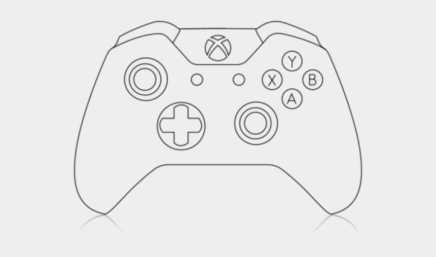 Clipart Wallpaper Blink Xbox Controller Drawing Cliparts