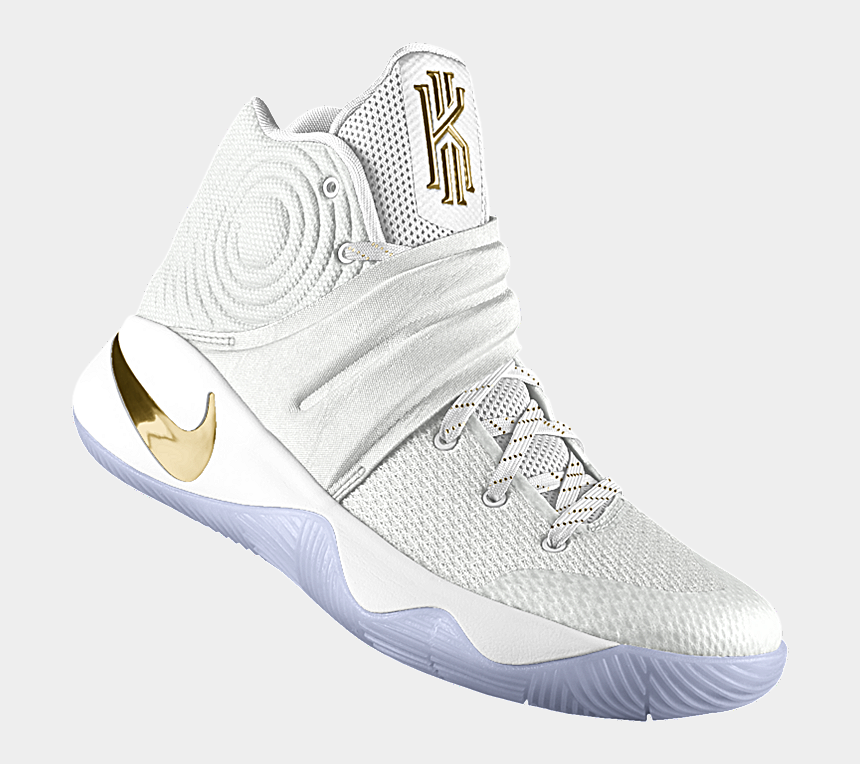 wholesale dealer bd1db ac395 Kyrie Irving 2 Nike Id White And Gold - Kyrie 2 Shoes All ...
