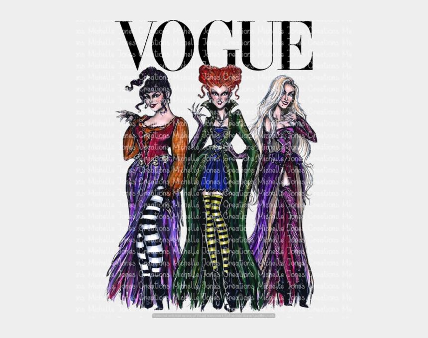 sanderson sisters clipart, Cartoons - Vogue Sanderson Sisters - Sanderson Sisters Hocus Pocus Drawn
