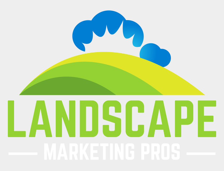 handing out flyers clipart, Cartoons - Landscape Marketing Pros Logo - Graphic Design