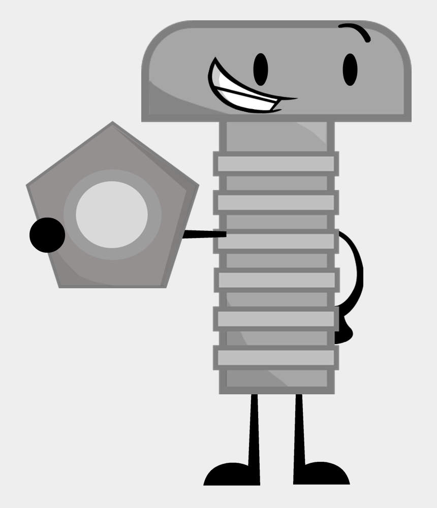 bolt head clipart, Cartoons - Image Nut And Pose By Ultrajacob Da Ⓒ - Bolt And Nut Cartoon