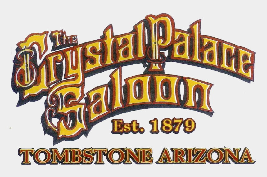 saloon clipart, Cartoons - Crystal Palace Saloon Home - Tombstone Arizona Png