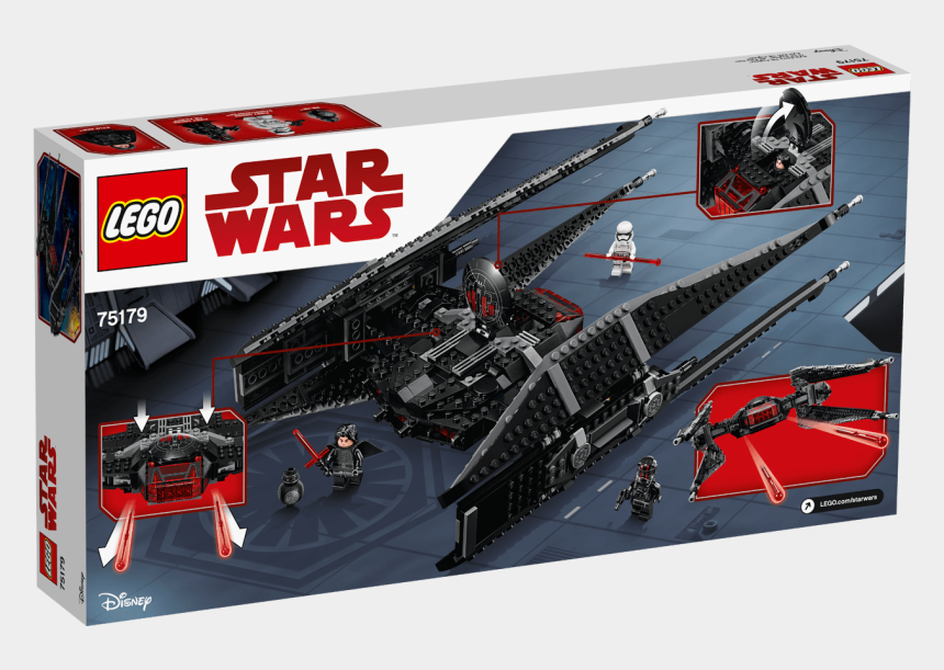 tie fighter clipart, Cartoons - 75179 Kylo Ren's Tie Fighter - Lego Star Wars Kylo Ren's Tie Fighter