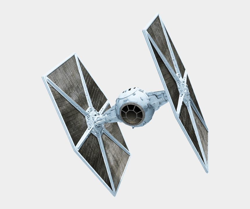 tie fighter clipart, Cartoons - Star Wars Star Fighter Transparent Image - Star Wars Transparent Background