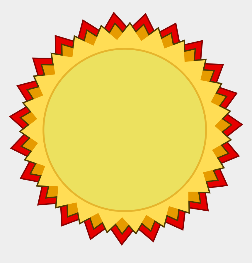 Ribbon circle. Vector pricing blank award