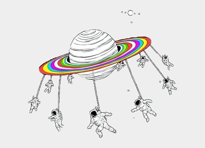saturn clipart, Cartoons - Pluto Rainbows Astronaut Helmet Stars Constellations - Rainbow Stickers Aesthetic Saturn