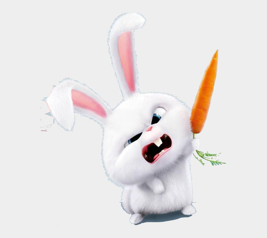 snowball clipart, Cartoons - Pet Clipart Secret Life Pets - Secret Life Of Pets Snowball Carrot