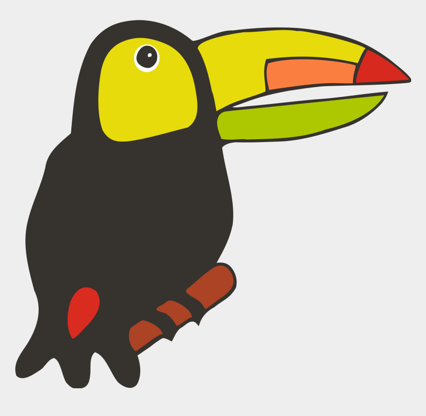 toucan clipart, Cartoons - File - Toucan - Svg - Wikimedia Commons - Toucan Drawing