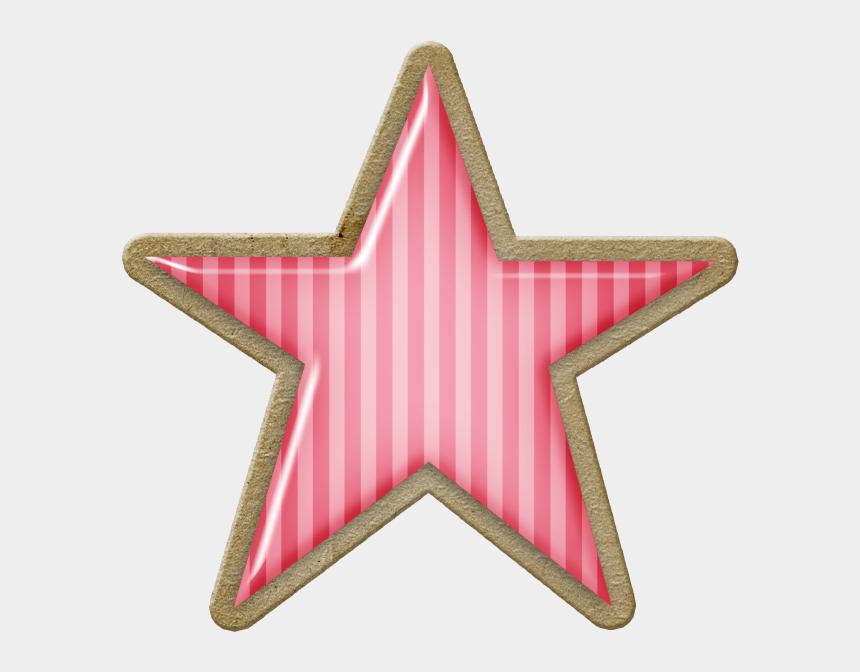 sparkles clipart, Cartoons - ○••°‿✿⁀stars‿✿⁀°••○ - Pink Christmas Star Clip Art