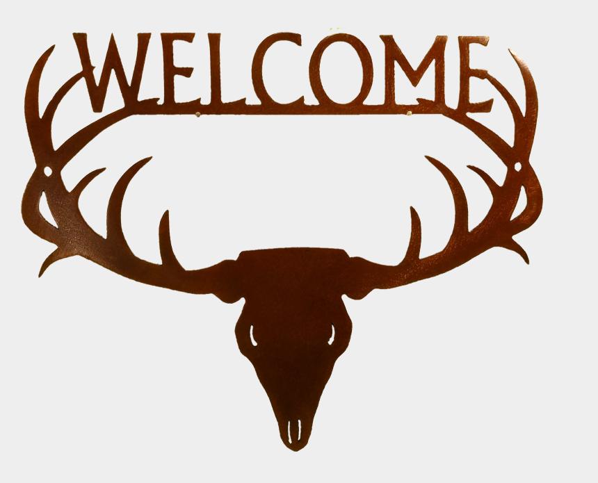 antlers clipart, Cartoons - Deer Antler Welcome Dm Zen Cart The Ⓒ - Antler