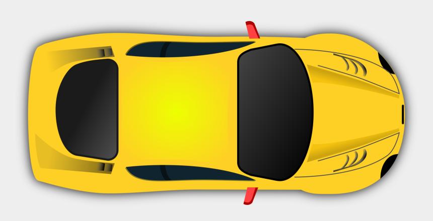 race track clipart, Cartoons - Sports Car Clip Art - Car Vector Top View Png