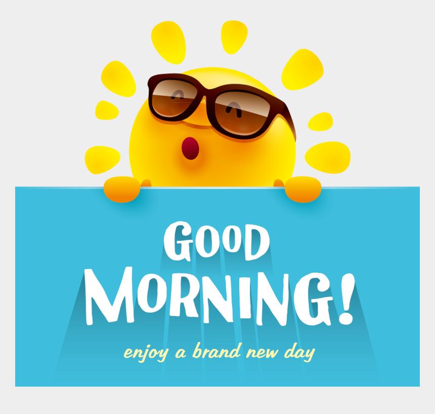 morning clipart, Cartoons - Cute Wish App Material Morning Vector Design Clipart - Cute Good Morning Png