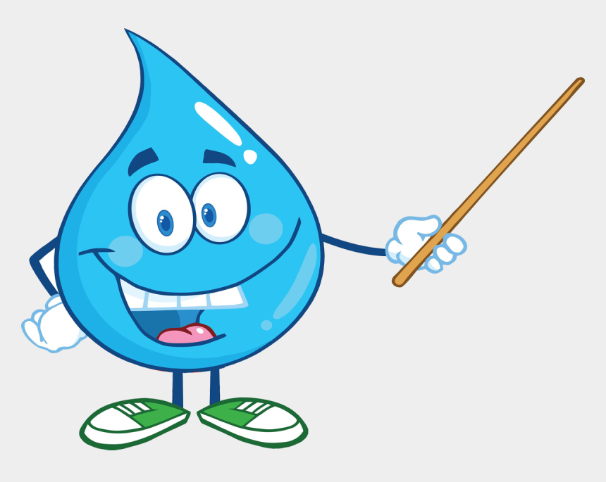 water droplet clipart, Cartoons - Youth Water Education Resources - Cartoon Water Drop Png