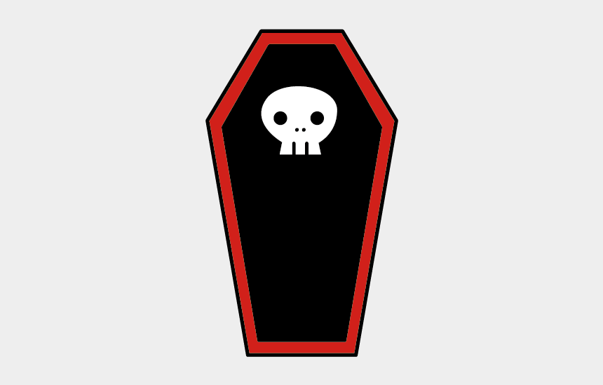 coffin clipart, Cartoons - Cartoon Drawing Skeleton Transprent Ⓒ - Cartoon Coffin Png