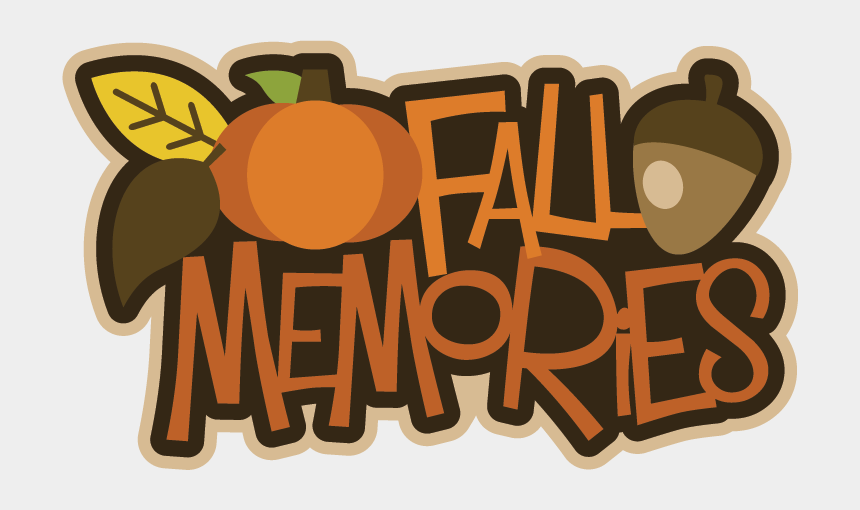 memory clipart, Cartoons - Fall Memories Svg Scrapbook Title Files Pumpkin Ⓒ - Fall Embellishment Scrapbooking