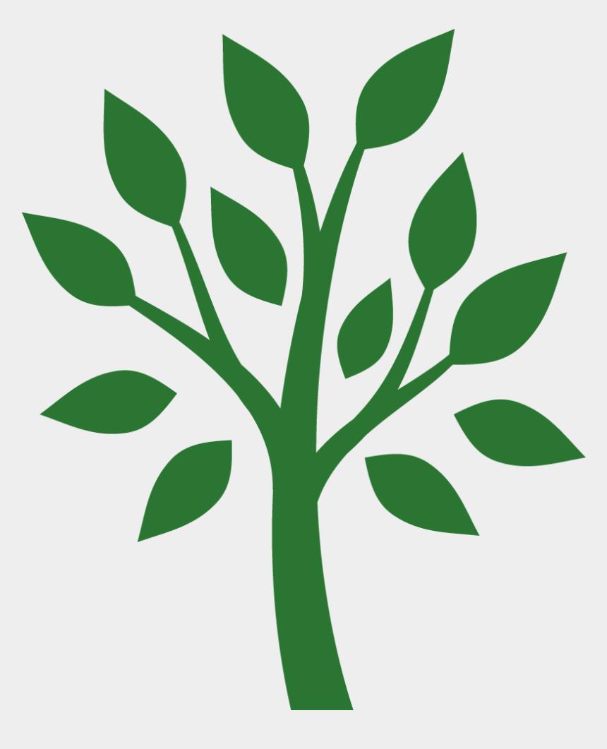 plant stem clipart, Cartoons - Planting Clipart Plant Stem - Growing Tree Silhouette
