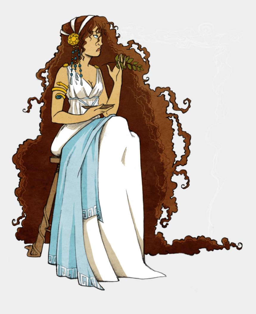 greek goddess clipart, Cartoons - Chariot Drawing Medea Mythology Greek - Pythia Cartoon