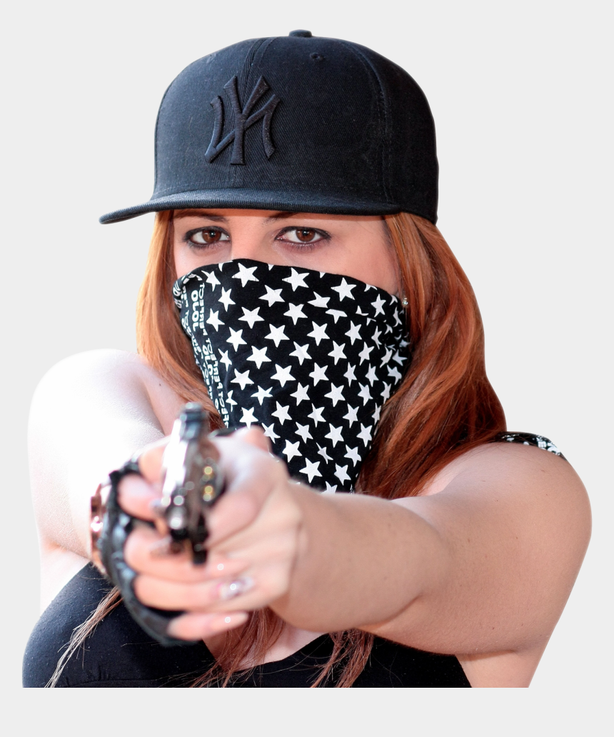 female thief clipart, Cartoons - Thief, Robber Png - Woman With A Gun Png
