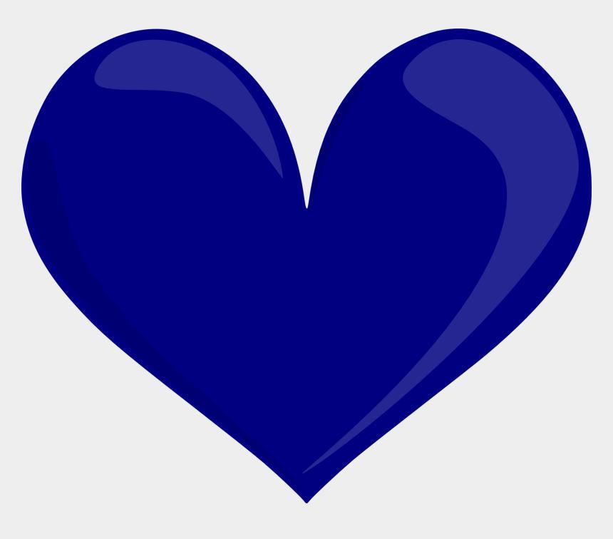 corazon clipart, Cartoons - Bight Pink Heart Blue Heart Green Heart - Dark Blue Heart Png