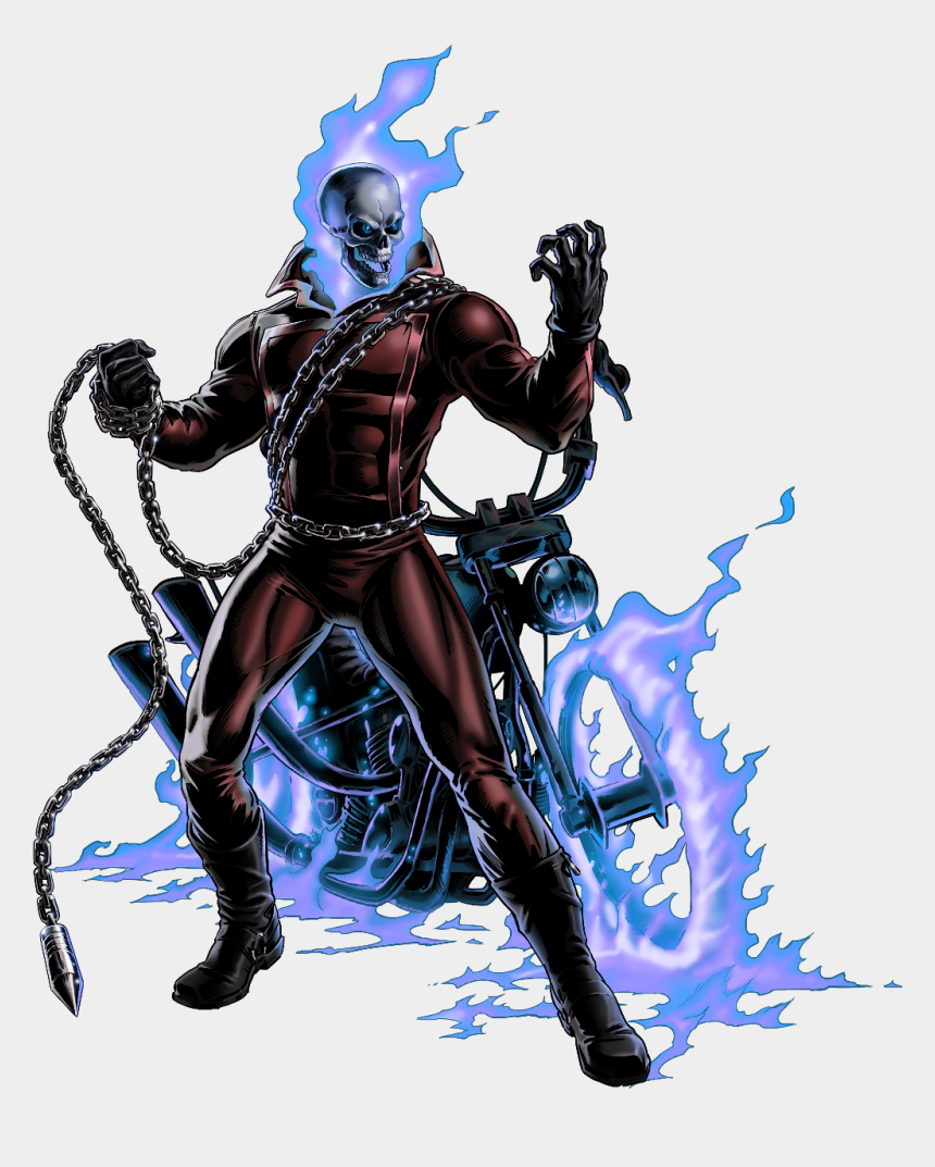 ghost rider clipart, Cartoons - #marvel #ghostrider - Dante And Ghost Rider