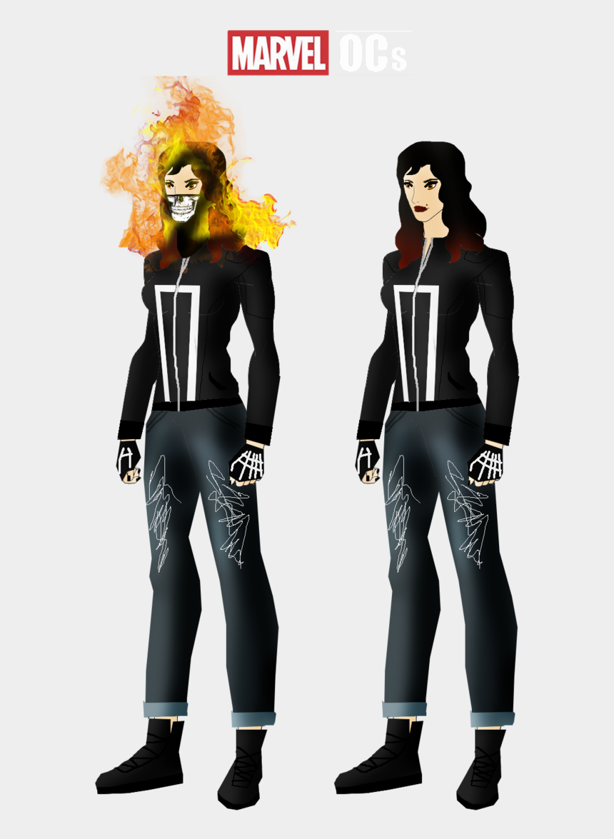 ghost rider clipart, Cartoons - Ghost Rider , Png Download - Marvel Oc