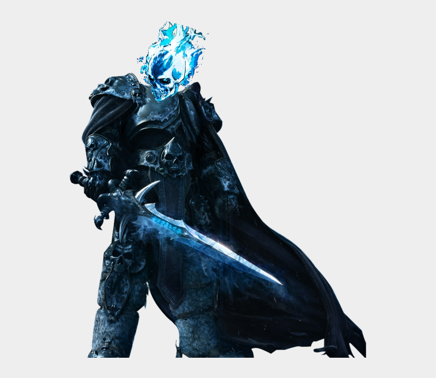 ghost rider clipart, Cartoons - Blue Drawing Ghost Rider Clip Art Royalty Free Download - Lich King Png