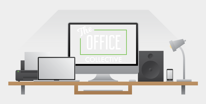 office desk clipart, Cartoons - The Collective Furniture Logo - Output Device