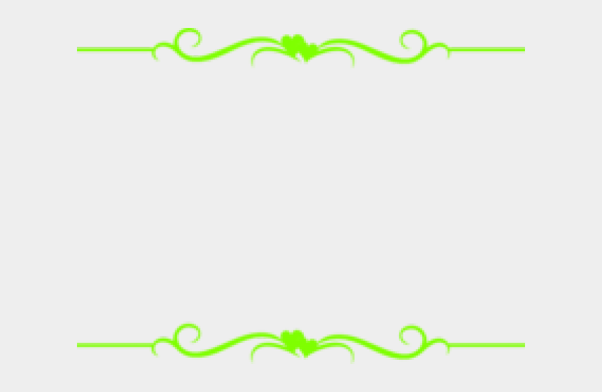 clipart scrolls and borders, Cartoons - Scroll Border Clipart - Clip Art Simple Border