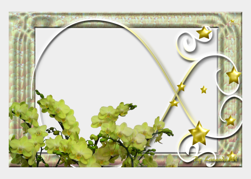 window frame clipart, Cartoons - Frame D Flowers N Stars Window Image - Floral Design