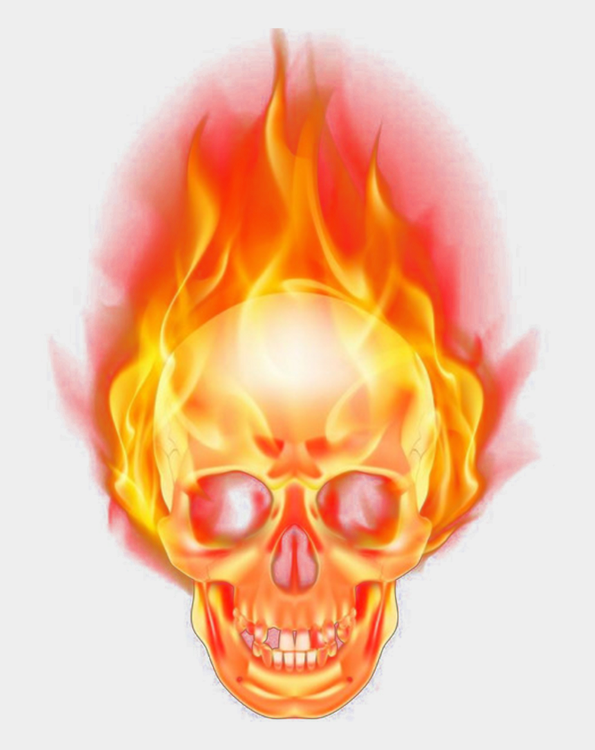 burning wood clipart, Cartoons - Burn Png Hd Quality - Ghost Rider Head Png