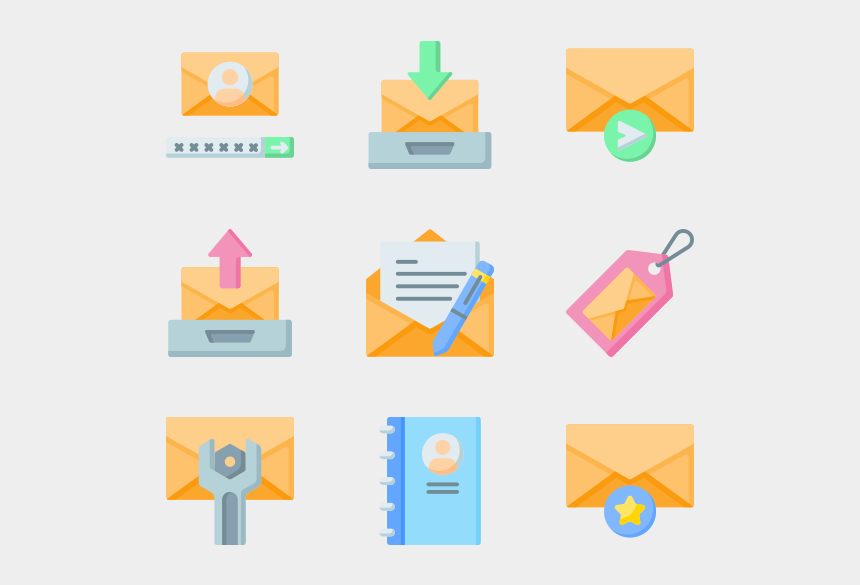 how to add clipart to email, Cartoons - Email