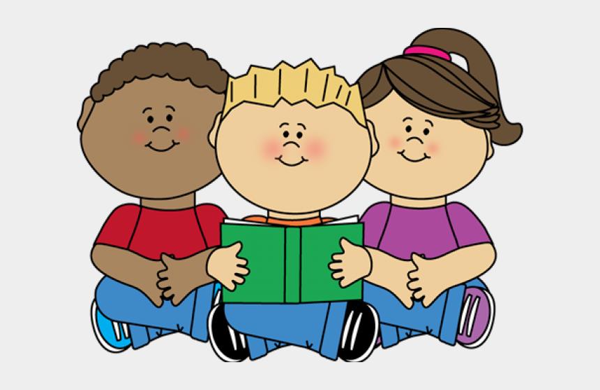 french class clipart, Cartoons - Clip Art Children Reading