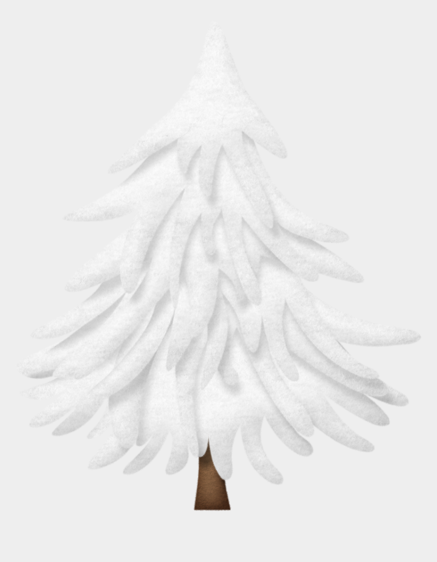 snow covered trees clipart, Cartoons - Tree * Winter Clipart, Christmas Clipart, Christmas - Snow Covered Pine Tree Clipart