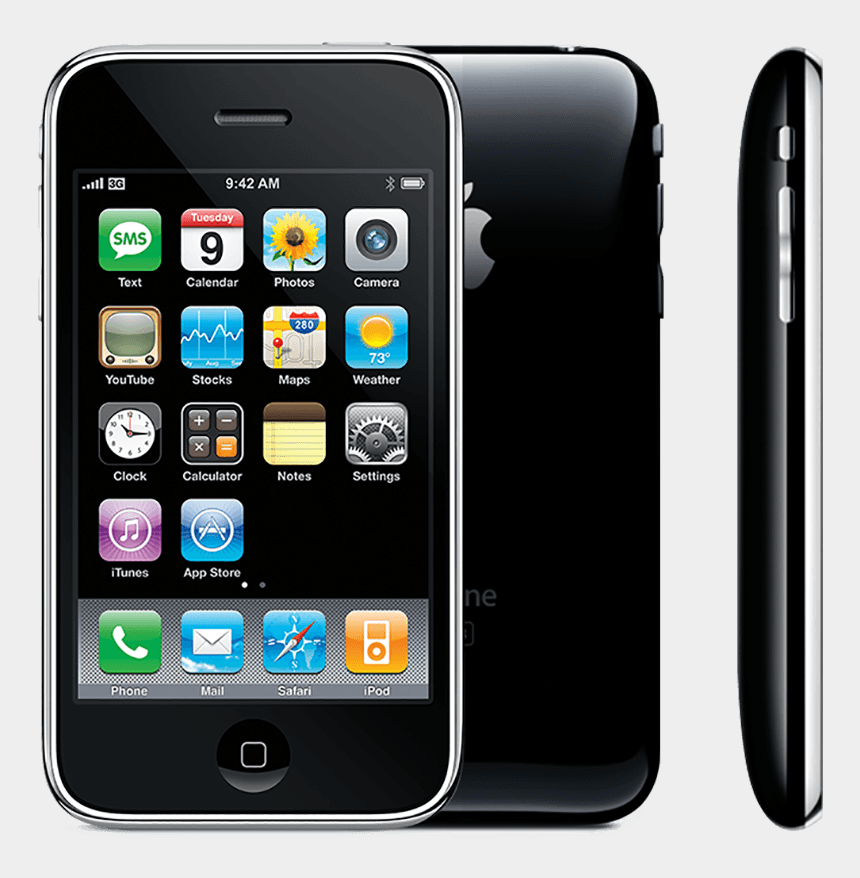 apple iphone clipart, Cartoons - Apple Iphone Clipart Large - Iphone 3