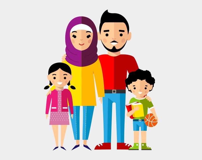 Clipart Dindar Aile Muslim Family Clipart Cliparts Cartoons Jing Fm