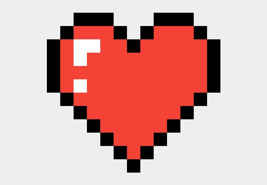 Coeur Link Pixel Heart Cliparts Cartoons Jingfm