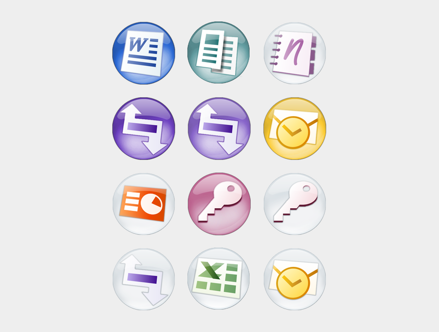 image clipart microsoft office 2007, Cartoons - Microsoft Office 2007 Orbs Icon Pack By Wstaylor - Microsoft Office Icons Transparent Orbs Visio