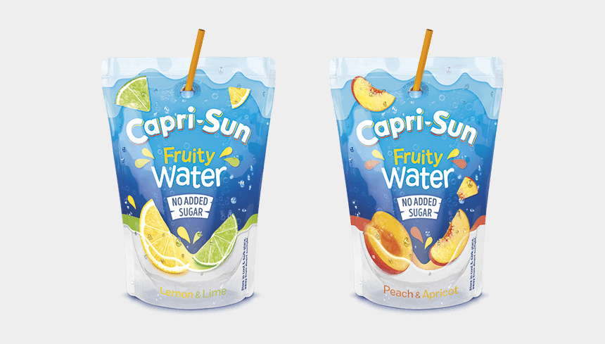 image clipart gratuite vacances, Cartoons - Capri-sun Fruity Water - Capri Sun