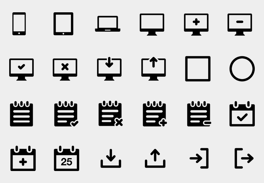 Set D Icones Clipart Vecteurs Informatique Internet Informatique Symbole Cliparts Cartoons Jing Fm
