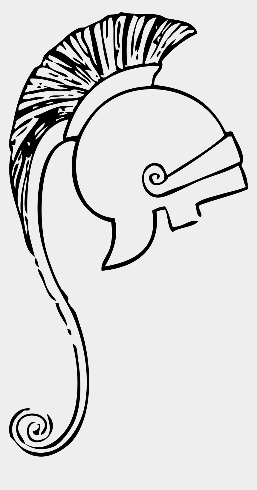 clipart teufel, Cartoons - Clipart Greek Helmet - Ancient Greece Drawings Easy